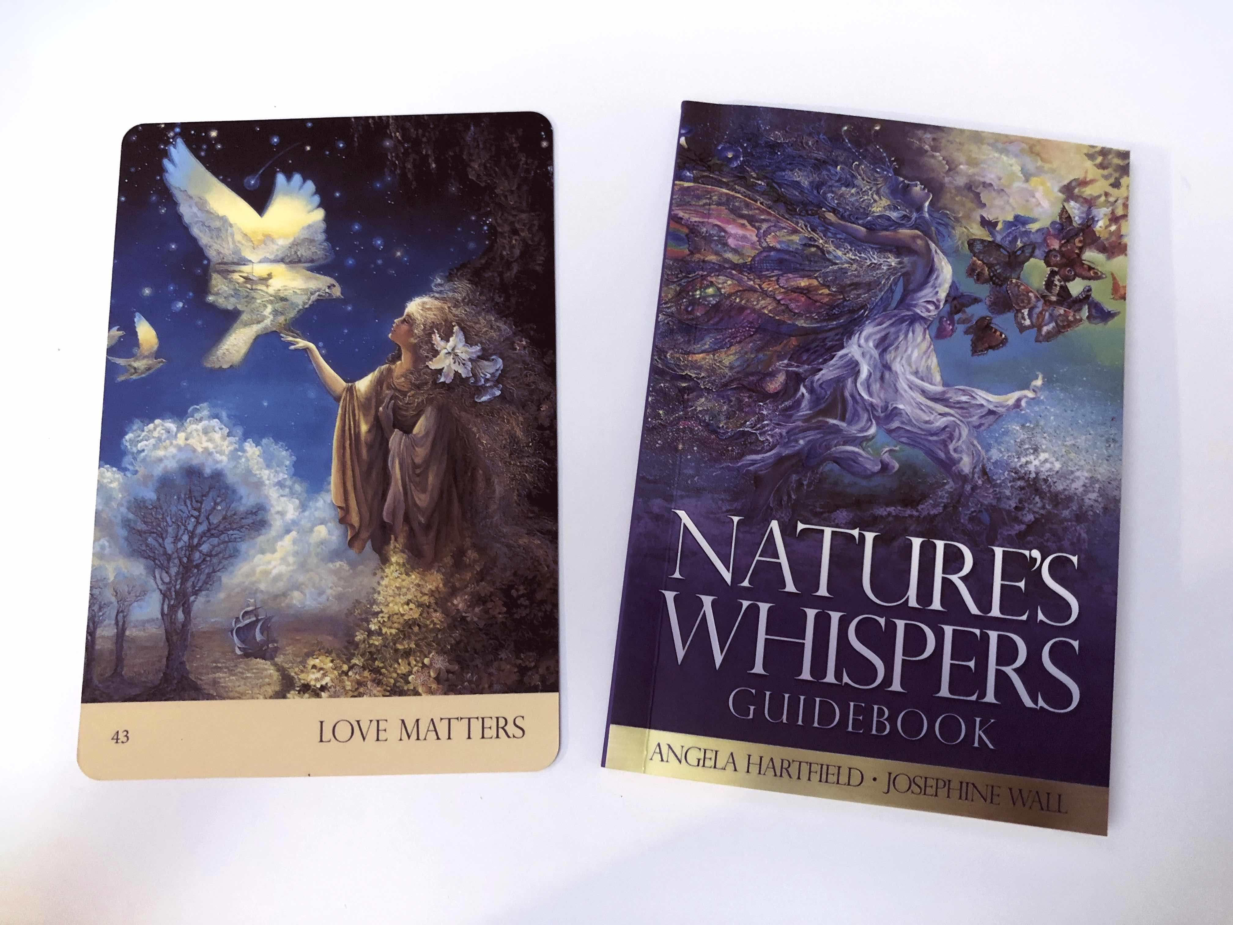 I want to fall in love again, love matters, oracle card